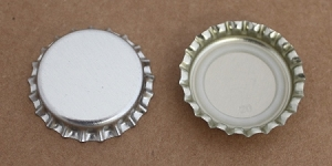 Chrome Bottle Caps (Universal)