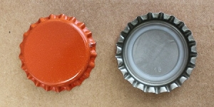 Orange Bottle Caps (Universal)
