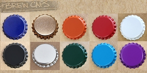 10 Pack Discount Pack Bottle Caps (Pry-off) with Liner