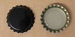 Black (Oxygen Barrier) Bottle Caps with Liner