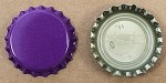 Purple (Oxygen Barrier Pry-off) Bottle Caps with Liner