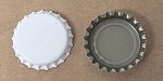 White (Oxygen Barrier Pry-off) Bottle Caps with Liner