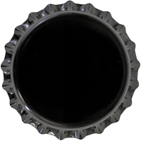 Black (Oxygen Barrier Pry-off) Crown Caps