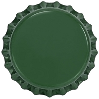Green (Oxygen Barrier Pry-off) Bottle Caps