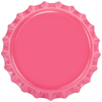 Hot Pink (Oxygen Barrier Pry-off) Bottle Caps