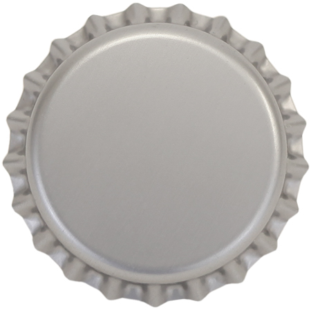 Silver Bottle Caps for Bottling