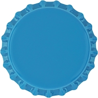 Caribbean Blue Bottle Caps (Universal)