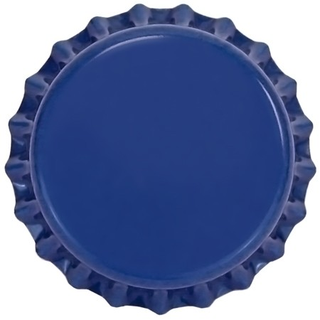 Blue (Oxygen Barrier Pry-off) Bottle Caps