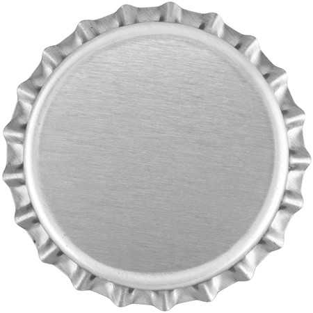 Chrome (Oxygen Barrier Pry-off) Bottle Caps