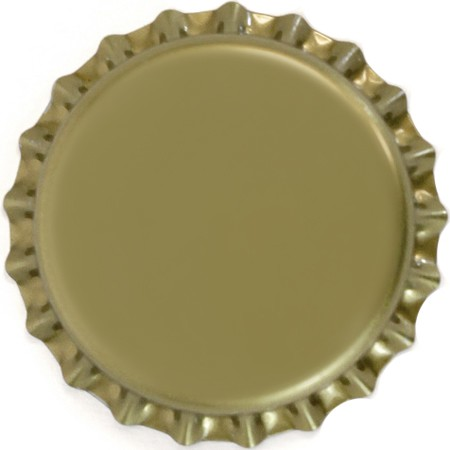 Gold Bottle Caps (Universal)