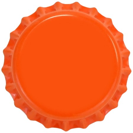 Orange (Oxygen Barrier Pry-off) Bottle Caps