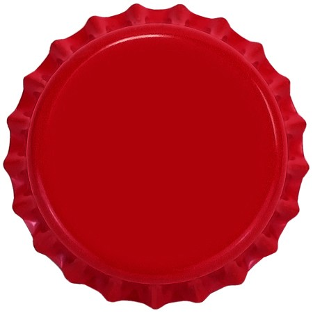 Red (Oxygen Barrier Pry-off) Bottle Caps